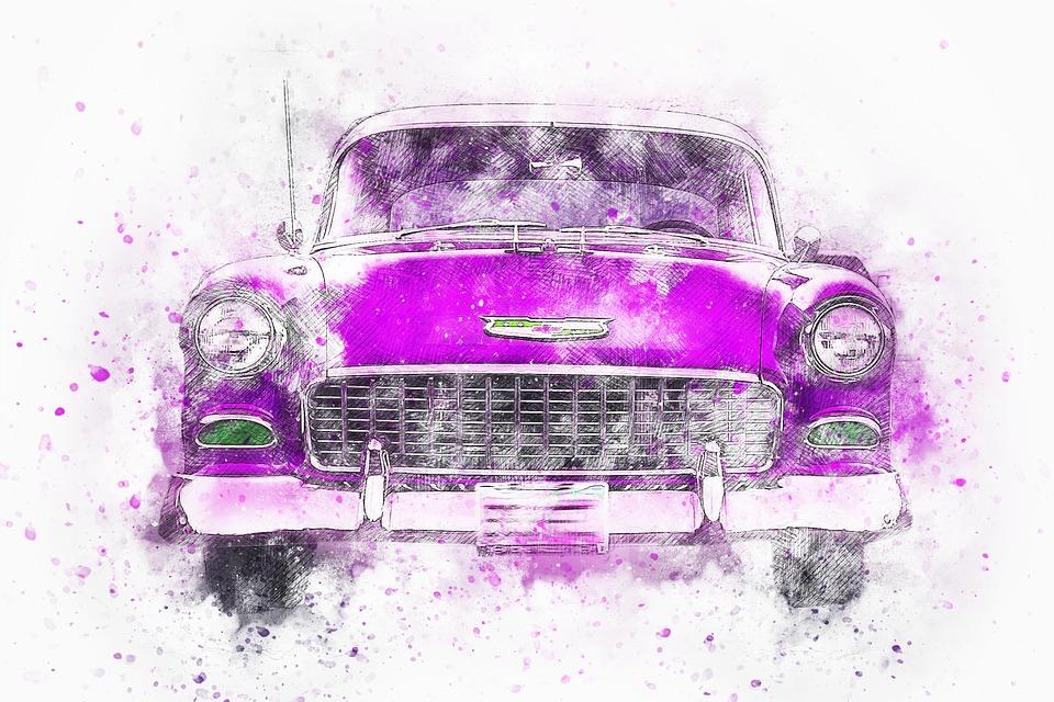 dessiner une voiture facilement